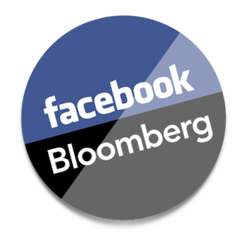 Facebook/Bloomberg logo
